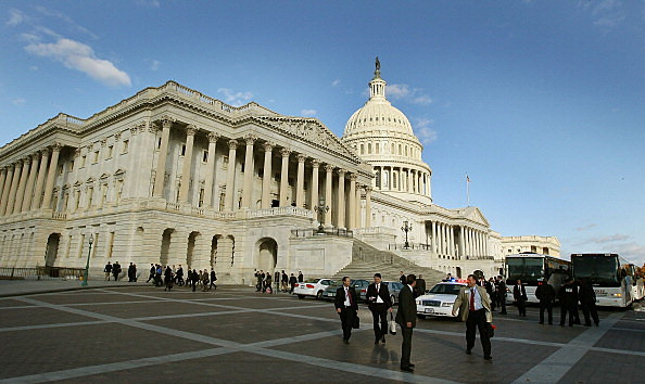 Senate Votes On Tax Cuts