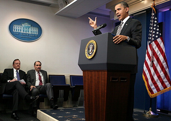 President Obama Holds News Conference Discussing Tax Cut Deal